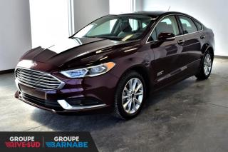 Used 2018 Ford Fusion ENERGI CUIR TOIT+HYBRIDE!! for sale in St-Jean-Sur-Richelieu, QC