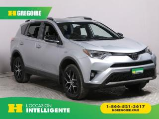 Used 2018 Toyota RAV4 SE AWD CUIR TOIT NAV for sale in St-Léonard, QC