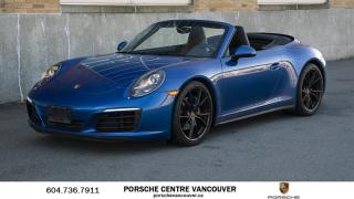 Used 2017 Porsche 911 Carrera 4 Cabriolet PDK | PORSCHE CERTIFIED for sale in Vancouver, BC