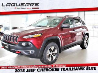 Used 2018 Jeep Cherokee V6 for sale in Victoriaville, QC