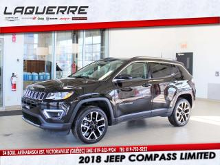 Used 2018 Jeep Compass LTD for sale in Victoriaville, QC