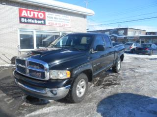 Used 2002 Dodge Ram 1500 SLT 4x4 for sale in St-Hubert, QC