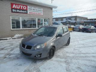 Used 2009 Pontiac Wave G3 for sale in St-Hubert, QC