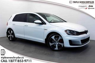 Used 2015 Volkswagen Golf GTI 5-Dr 2.0T Performance at DSG Tip LEATHER - BLUETOOTH - POWER SEAT for sale in Regina, SK