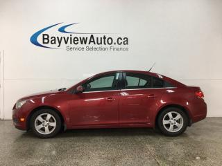 Used 2014 Chevrolet Cruze 2LT - ONSTAR! MY LINK! HTD LTHR! PIONEER SOUND! for sale in Belleville, ON