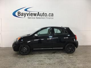 Used 2015 Nissan Micra SV - KROM! REVERSE CAM! BLUETOOTH! CRUISE! ALLOYS! for sale in Belleville, ON