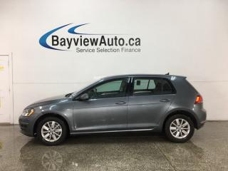 Used 2015 Volkswagen Golf 1.8 TSI Trendline - 5SPD! HTD SEATS! BLUETOOTH! A/C! CRUISE! for sale in Belleville, ON