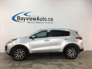 Used 2017 Kia Sportage EX - AWD! HTD LTHR! BSA! RCTA! PANOROOF! ALLOYS! for sale in Belleville, ON