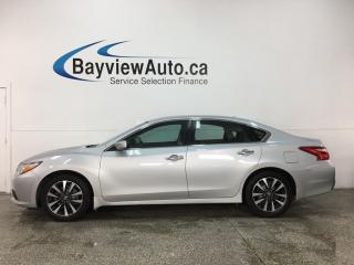 Used 2016 Nissan Altima 2.5 SV - BLUETOOTH! PUSH START! BSA! HTD SEATS! ALLOYS! for sale in Belleville, ON