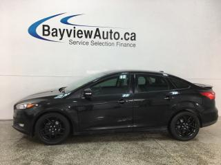 Used 2015 Ford Focus - SYNC! HTD SEATS! CRUISE! REVERSE CAM! ALLOYS! for sale in Belleville, ON