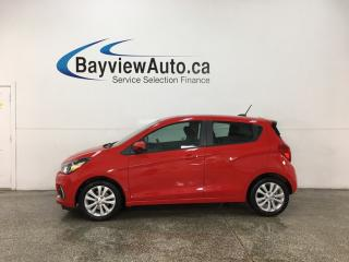 Used 2016 Chevrolet Spark 1LT CVT - ONSTAR! MY LINK! APPLE CARPLAY! ANDROID AUTO! SUNROOF! ALLOYS! for sale in Belleville, ON