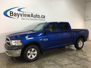 Used 2017 RAM 1500 ST - 4X4! HITCH! TOW/HAUL! A/C! CRUISE! ALLOYS! for sale in Belleville, ON