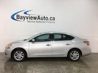 Used 2013 Nissan Sentra 1.8 SV - SUNROOF! PUSH START! HTD SEATS! BOSE SOUND! ALLOYS! for sale in Belleville, ON