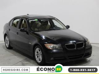 Used 2008 BMW 328 A/C CUIR TOIT for sale in St-Léonard, QC
