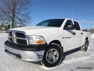 Used 2012 RAM 1500 crew cab 4wd ST for sale in Drummondville, QC