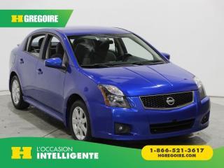 Used 2012 Nissan Sentra SR A/C GR ELECT for sale in St-Léonard, QC