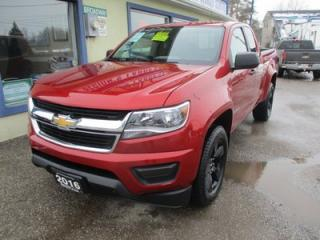 Used 2016 Chevrolet Colorado LIKE NEW LT EDITION 4 PASSENGER 2.5L - DOHC.. 4X4.. EXT-CAB.. SHORTY.. AUX/USB INPUT.. BLUETOOTH.. BACK-UP CAMERA.. for sale in Bradford, ON