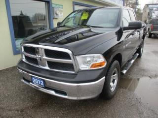Used 2012 Dodge Ram 1500 GREAT VALUE SLT MODEL 6 PASSENGER 5.7L - HEMI.. 4X4.. QUAD-CAB.. SHORTY.. CD/AUX INPUT.. BLUETOOTH SYSTEM.. for sale in Bradford, ON
