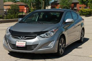 Used 2014 Hyundai Elantra Limited Sunroof | Heated Seats | CERTIFIED for sale in Waterloo, ON