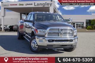 Used 2017 RAM 3500 Laramie *DUALLY* *AUTO LEVEL SUSPENSION* *LOADED* *AISIN* for sale in Surrey, BC