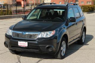 Used 2010 Subaru Forester 2.5 X ONLY 72K | AWD | Heated Seats | CERTIFIED for sale in Waterloo, ON