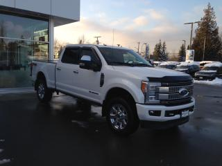Used 2017 Ford F-350 Platinum LOW KMS, LOCALLY DRIVEN for sale in Surrey, BC