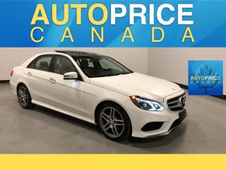 Used 2015 Mercedes-Benz E-Class SPORT PKG|NAVIGATION|PANROOF for sale in Mississauga, ON