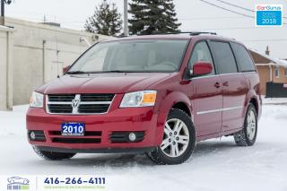 Used 2010 Dodge Grand Caravan SXT 1 OWNER, CAM, STOW N GO NO ACCIDENTS CERTIFIED for sale in Bolton, ON