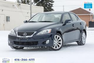 Used 2009 Lexus IS 250 AWD NAVI GPS REAR CAM ULTRA PREM 1 OWNER CERTIFIED for sale in Bolton, ON