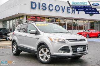 Used 2015 Ford Escape SE 2.0L, NAV, ALLOYS, for sale in Burlington, ON