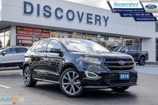 Used 2018 Ford Edge SPORT for sale in Burlington, ON