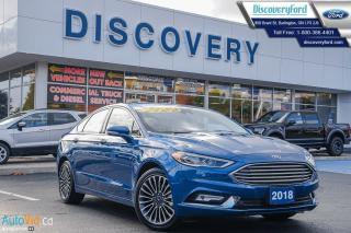 Used 2018 Ford Fusion Titanium AWD for sale in Burlington, ON