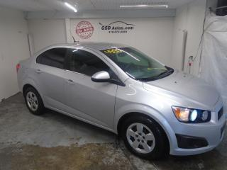 Used 2012 Chevrolet Sonic LT for sale in Ancienne Lorette, QC