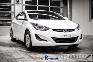 Used 2016 Hyundai Elantra L CHEZ RIMOUSKI for sale in Rimouski, QC