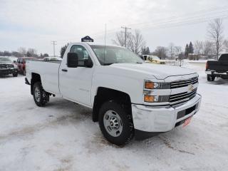 Used 2015 Chevrolet Silverado 2500 WT. 4X4. Salt free Western Canada truck for sale in Gorrie, ON