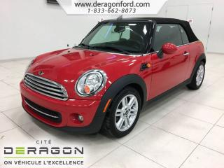 Used 2015 MINI Cooper Convertible for sale in Cowansville, QC