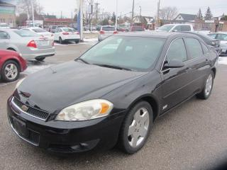 Used 2006 Chevrolet Impala SS for sale in Hamilton, ON