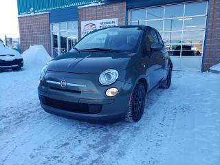 Used 2013 Fiat 500 BAS KILO! POP+MANUELLE+GROUPE ÉLECTRIQUE for sale in St-Eustache, QC