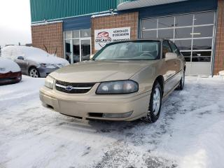 Used 2004 Chevrolet Impala Berline LS 4 portes for sale in St-Eustache, QC