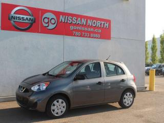 Used 2019 Nissan Micra S/BACKUP CAM/STEERING WHEEL CONTROLS for sale in Edmonton, AB