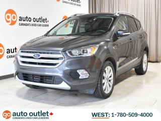 Used 2018 Ford Escape TITANIUM 4WD; NAV, LEATHER, HEATED SEATS, REMOTE START, POWER LIFTGATE, ACTIVE PARK ASSIST! for sale in Edmonton, AB