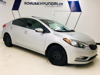 Used 2016 Kia Forte Ex , Mags , Toit for sale in Chicoutimi, QC