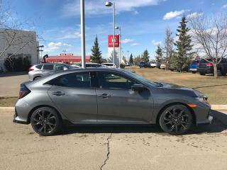 New 2019 Honda Civic Hatchback Sport Heated Seats Back Up Cam for sale in Red Deer, AB