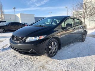 Used 2014 Honda Civic SEDAN LX for sale in Edmonton, AB