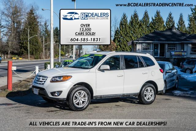 2010 Hyundai Santa Fe GL V6 AWD, Bluetooth, Satellite Radio, Clean!