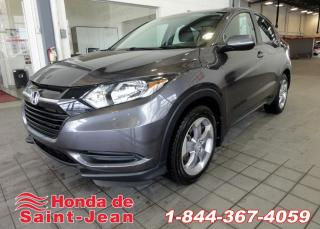 Used 2018 Honda HR-V LX AWD CVT Sieges Chauffants Camera for sale in St-Jean-Sur-Richelieu, QC