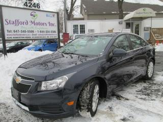 Used 2014 Chevrolet Cruze Eco for sale in Scarborough, ON
