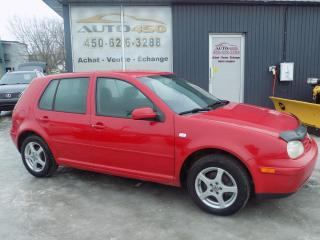 Used 2003 Volkswagen Golf ***CL,HB 4 PORTES,*** for sale in Longueuil, QC