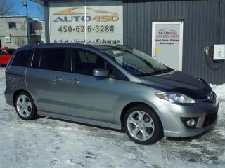 Used 2010 Mazda MAZDA5 ***GT,AUTOMATIQUE,2 ENSEMBLES DE ROUES** for sale in Longueuil, QC