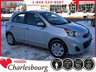 Used 2015 Nissan Micra SV **PETIT PRIX!** for sale in Charlesbourg, QC